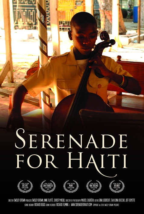 SERENADE FOR HAITI POSTER