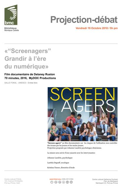 Conference Screenagers Web