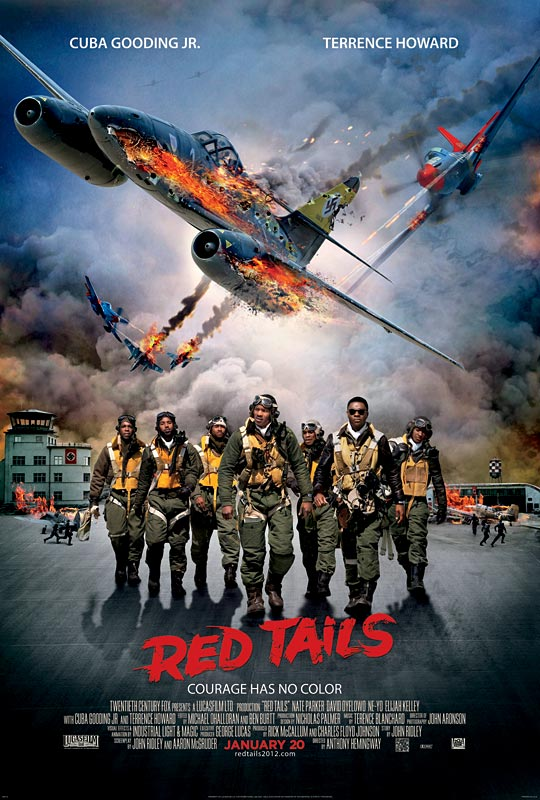 Red Tails Affiche USA 2